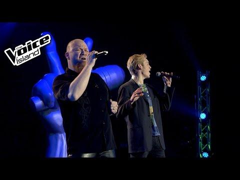 Gísli vs. Örn Gauti - Fly Me To The Moon   The Voice Iceland 2015   Battle