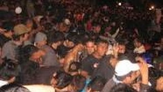 Video amatir kericuhan konser Band Noah di Bone