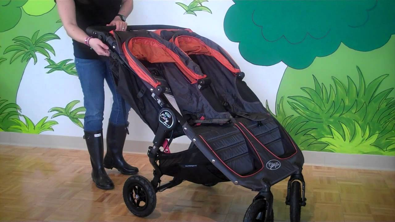 baby jogger city mini gt double stroller youtube. Black Bedroom Furniture Sets. Home Design Ideas