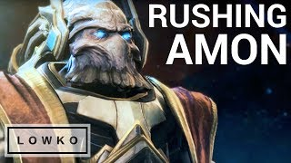 StarCraft 2: CANNON RUSHING AMON!