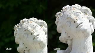 Panasonic Lumix FZ1000 vs FZ2000 / FZ2500 Camera Test / Video Samples / 4K