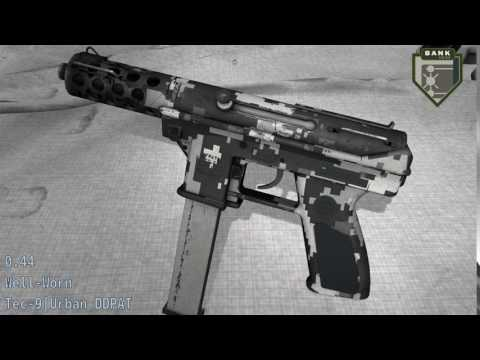 Tec - 9 Urban DDPAT - Skin Wear Preview