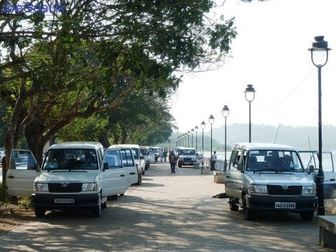 (Goa Elections) Parking / driving on footpath