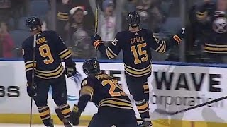 Gotta See It: Eichel scores twice in 10 seconds to complete the