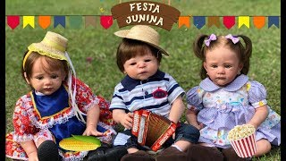 FESTA JUNINA REBORN COM SHOW DO DUDU