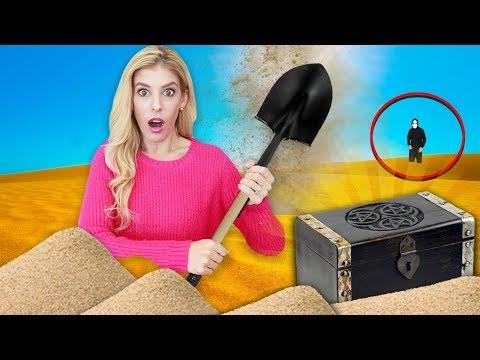 Finding TREASURE CHEST Hidden in Sunken City! (Secret Mission in Real Life)