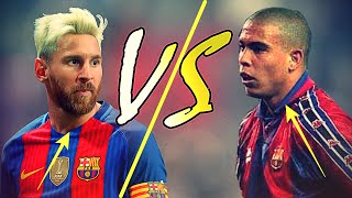 Messi Vs Ronaldo El Fenomeno | Dribbling/Runs/Speed/Goals 1080p HD