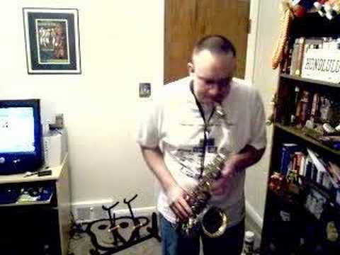 Somewhere Over The Rainbow Alto Sax Saxophone