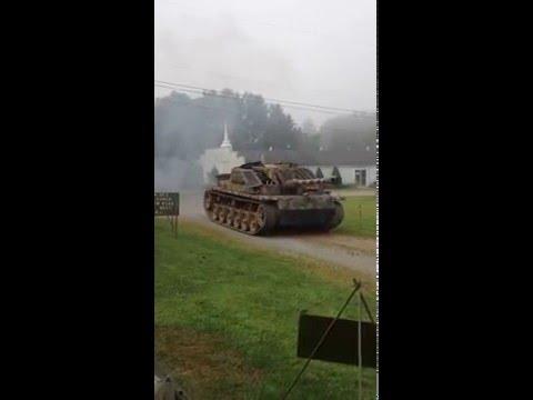 Remagen Reenactment 2014 Stug Replica Tank