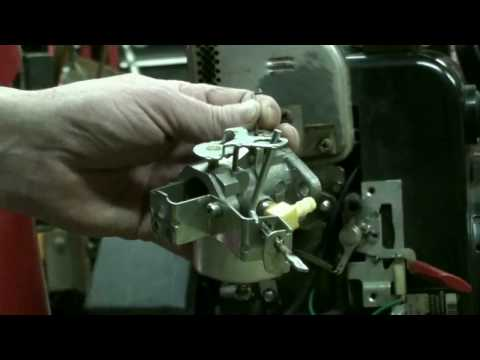 Tecumseh Snow King Carburetor Repair Video on Troy-Bilt Snow Blower part #5