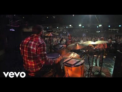 Band Of Horses - Great Salt Lake (Live On Letterman)