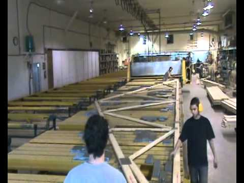 Fabrication De Ferme De Toit Truss Youtube