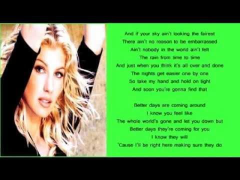 Faith Hill - Better Days (+ lyrics 1998)