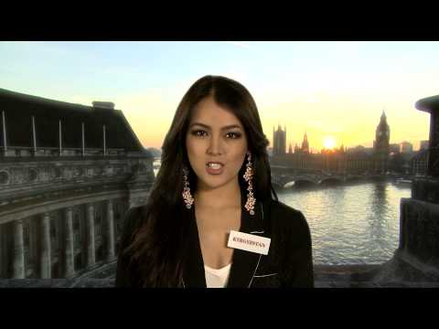 KYRGYZSTAN, Aikol Alikzhanova - Contestant Profile : Miss World 2014