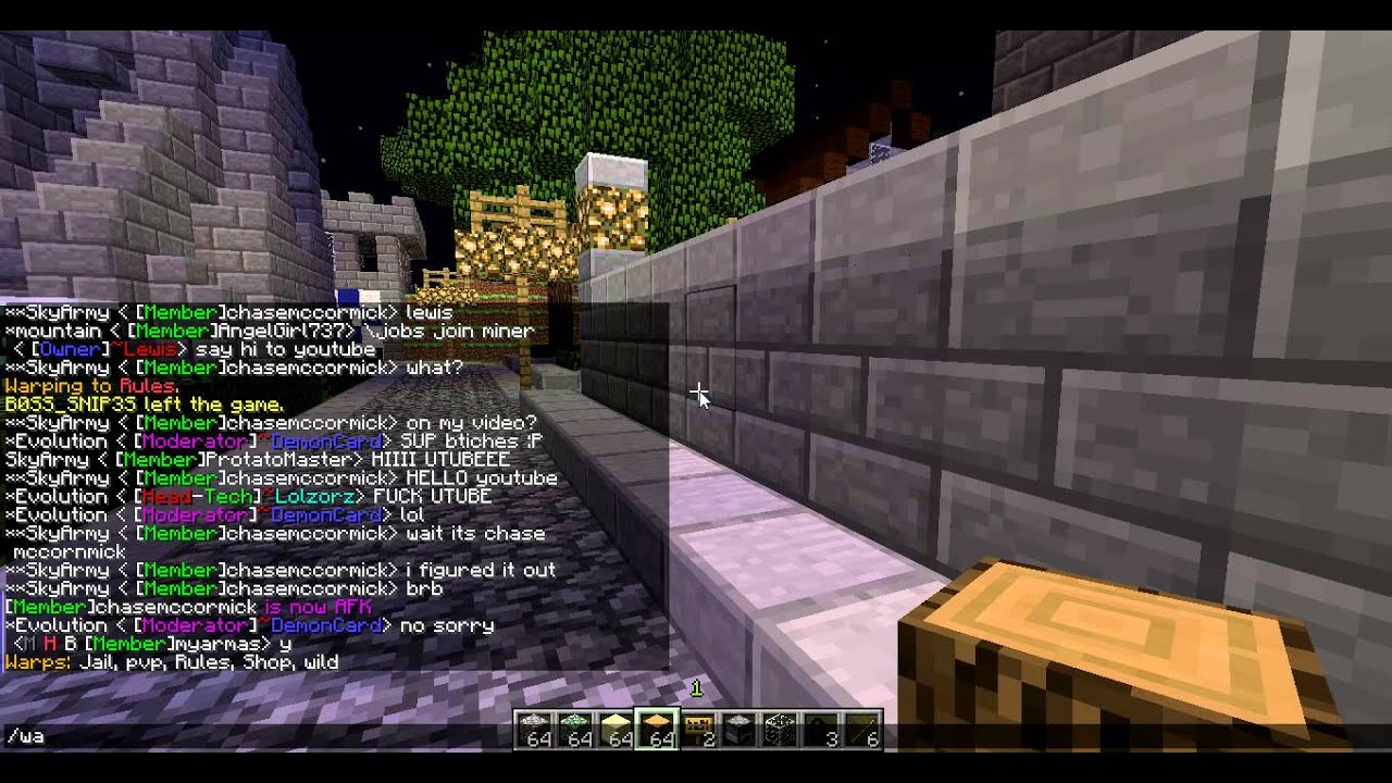 minecraft dating servers 1 6 4 Check the availability of minecraft names, look up the name history of minecraft accounts, view minecraft skins in 3d, convert uuids, and much more.