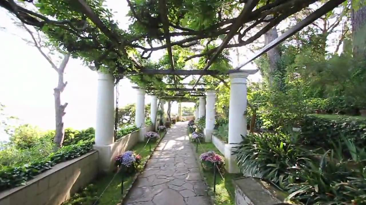 Villa san michele capri youtube for Capri villa