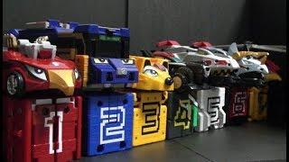 파워레인저 애니멀포스 큐브 & 엔진포스 자동차 장난감 변신 Power Rangers Doubutsu Sentai Zyuohger Cube & RPM Car Toys
