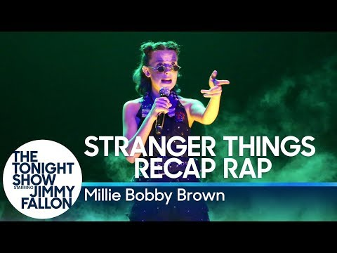 Millie Bobby Brown Raps a Stranger Things Season 1 Recap