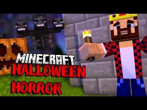 БИТВА ИССУШИТЕЛЕЙ - Minecraft Halloween Horror (Mini-Game)