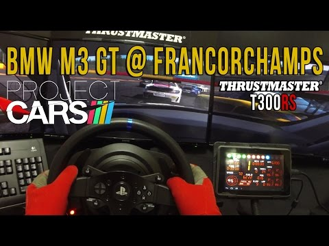 Project CARS Race - BMW M3 GT @ Spa Francorchamps (T300Rs)(GoPro)