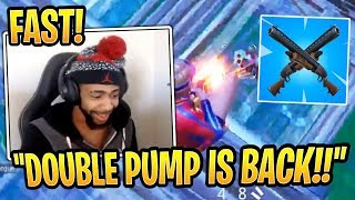 Daequan Learns *NEW* Double Pump in Season 5! - Fortnite Best and Funny Moments