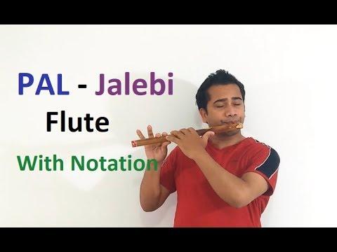 Pal - Jalebi Flute Tutorial with Notation|Arijit Singh|Sagar Prasad|C# Scale