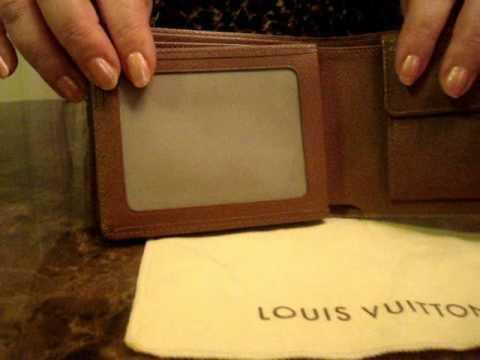 Louis Vuitton Men S Personalized Florin Wallet Youtube