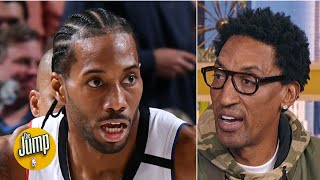 Scottie Pippen doesn't care if Kawhi and Paul George get preferential treatment: MJ did! | The Jump