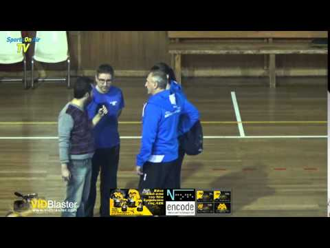 Aleh HULEVICH, post game interview, AEK Athens - Minchanka Minsk 0-3, CEV Challenge Cup