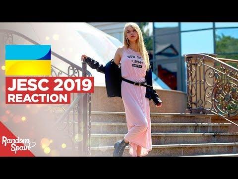 REACTION Sophia Ivanko - The Spirit Of Music | Ukraine Junior Eurovision 2019