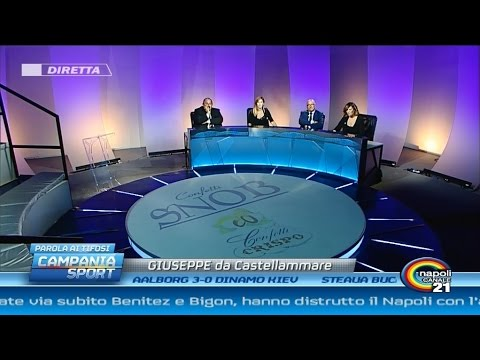 Campania Sport (parola ai tifosi) post Young Boys-Napoli 2-0 - Canale 21 23/10/14