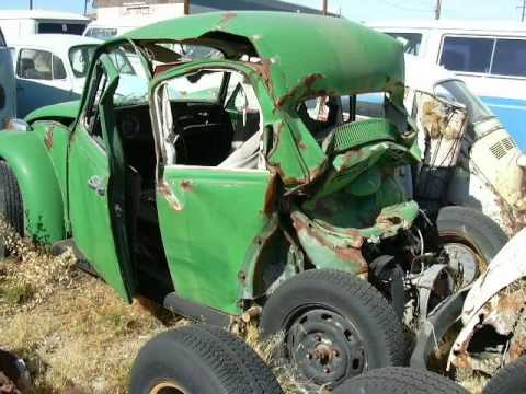 VW Beetle wrecks and crashes
