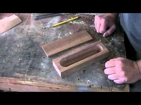 Make a sliding-lid box
