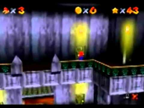 Super Mario 64 Ghost House Haunted House Super Mario 64