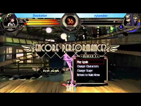 [EVO 2012] Skullgirls Grand Finals - Duckator vs rylander