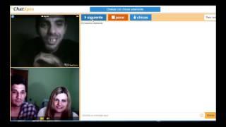 hablando con gente rara en chatspin
