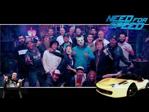 Потрясный финал на лучшем авто в игре - Ferrari 458 Italia NFS 2015/2016 на руле Fanatec CSL Elite