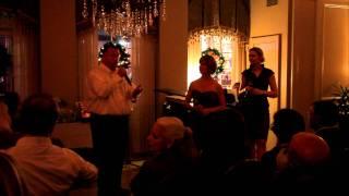 "Bon Operatit! Performs ""Time to Say Goodbye"" at The Inn On Bourbon"
