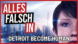 Alles falsch in DETROIT: Become Human 🛎️ GameSünden [Satire]