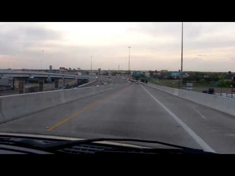 281 South to Expressway 83 Interchange in Pharr TX