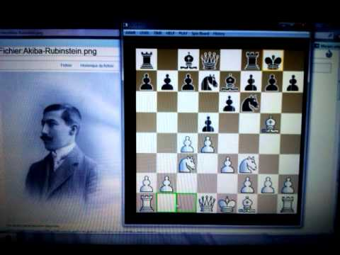 Damin gambit -  RUBINSTEINOV šahovski trik  - EUWE vs RUBINSTEIN  # 83 sah i mat