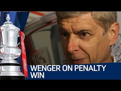 Wenger On Arsenal Penalty Win: Arsene Wenger's Fa Cup Semi Final Win video