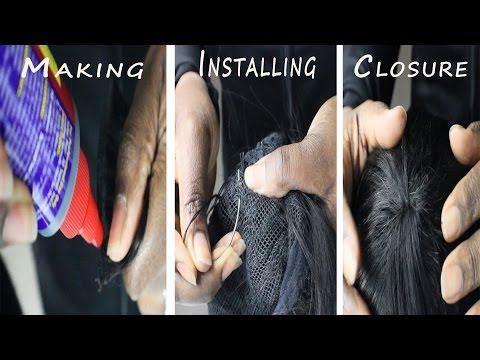 Wig Making 101 Series| Hand Made Circular Closure for Full Wigs