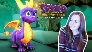 FIRST GAMEPLAY! | Spyro Reignited Trilogy Demo Gameplay E3 2018