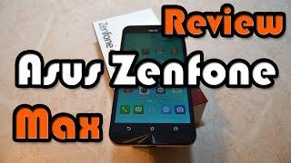 Asus Zenfone Max - обзор, тест камеры, звук, бенчмарки и игры (Asphalt 8 и World of Tanks Blitz )