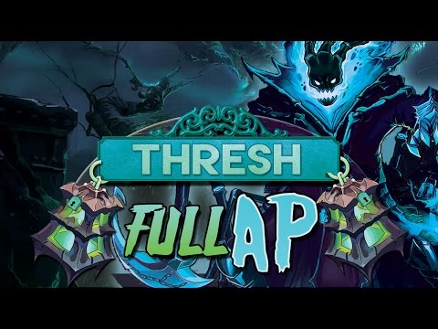 ESPARTACO AZUL | THRESH FULL AP MID ( Parodia ) League of Legends