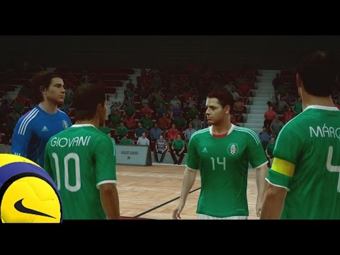 Fútbol Sala - Mexico Vs Chile, Un amisto no tan amistoso en Fifa Street