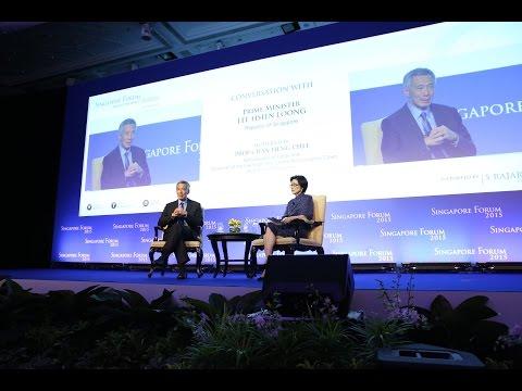 Dialogue at 2015 Inaugural Singapore Forum