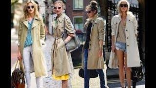 Stylish Ways to Wear Women's Trench Coat