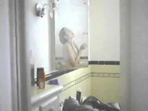 Angelina Jolie Bathing video